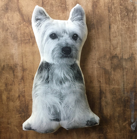 Yorkshire Terrier Decorative Printed Pillow