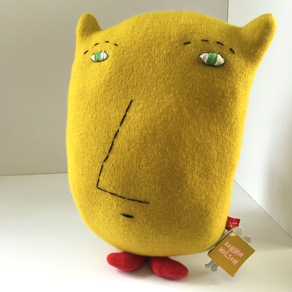 Donna Wilson Hand-knit Stuffed Animal - Peeping Tom