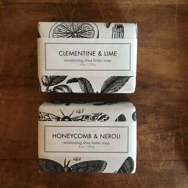 6oz. Scented Shea Butter Soap