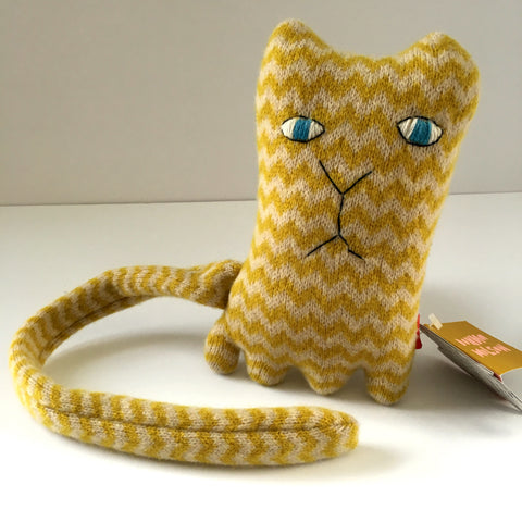 Donna Wilson Hand-knit Stuffed Animal - Ziggy Cat