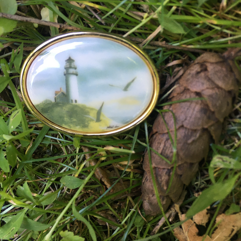S141 - Lighthouse Brooch