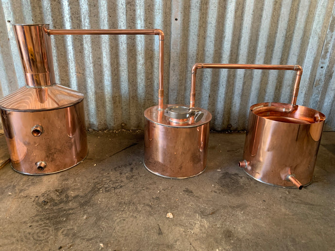 5 gallon Copper Distilling System - American Distilling Equipment