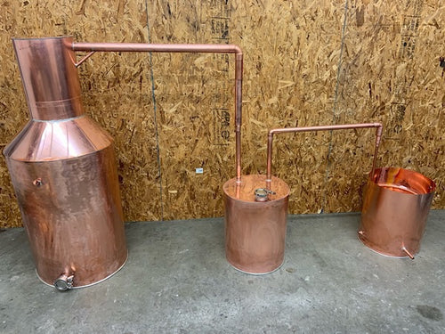 50 gallon Tig Welded Copper Distilling System - American Distilling Equipment