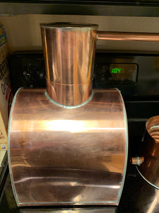 "3 gallon Copper ""Lunch Box"" style Distiller - American Distilling Equipment"