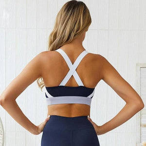 Lynda's Navy Sports Bra