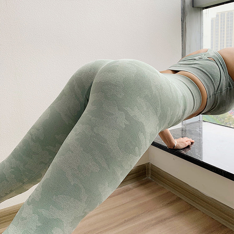 Olivia's Seamless Camo Leggings