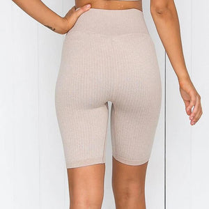 Claire's Seamless Ribbed Shorts