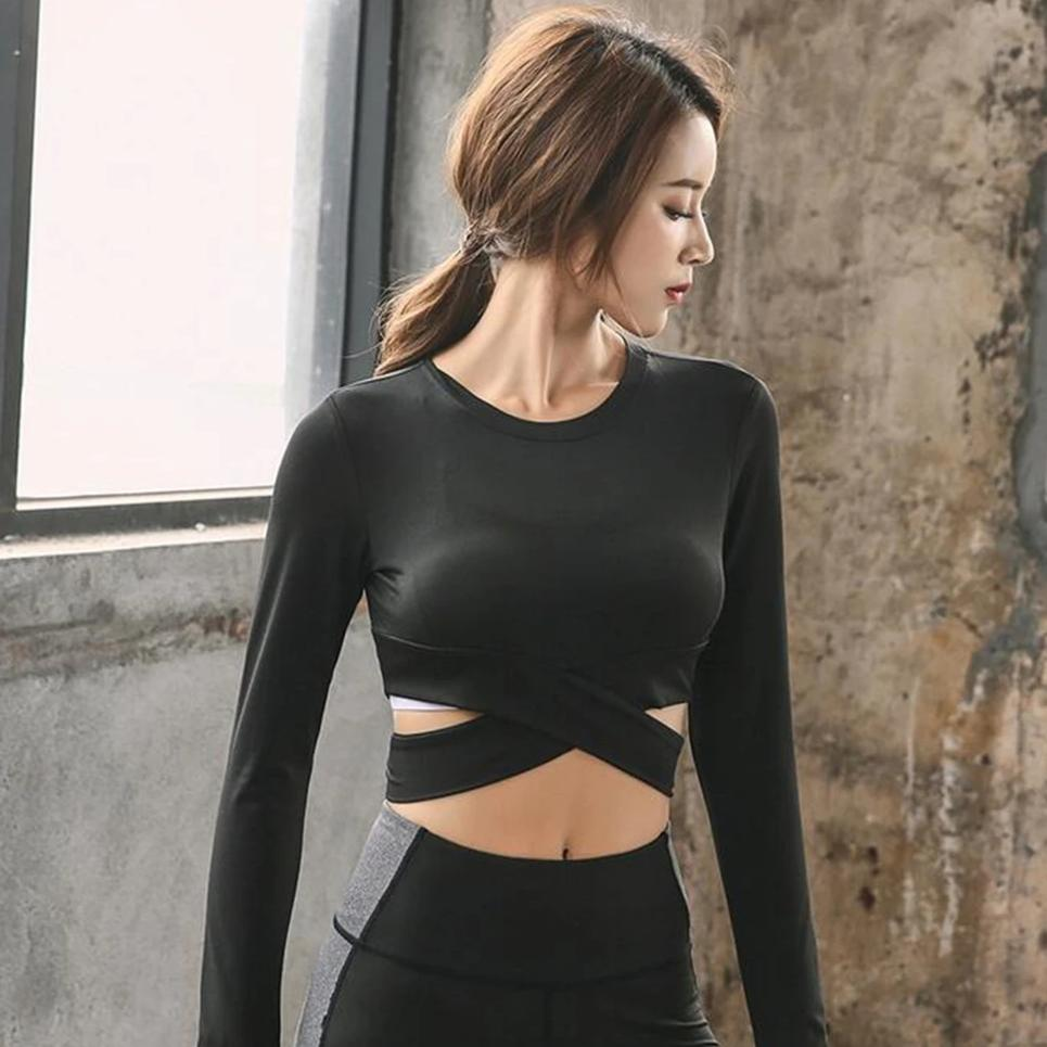 Melody's Workout Crossed Top