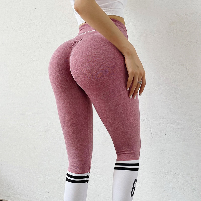 Penny's Seamless Striped Leggings