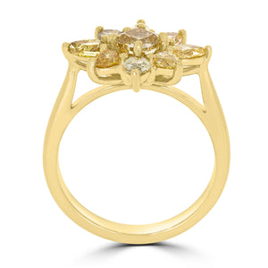 Fancy  Cushion Blossom Collection Diamond Ring - Rosendorff Diamond Jewellers