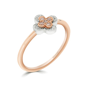 Eminence Pinks Clover Ring