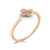 Eminence Pinks Clover Ring (6109782966434)