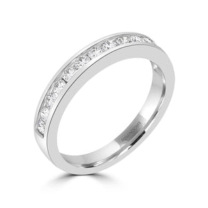 Channel Set Wedding Band 0.40ct - Rosendorff Diamond Jewellers
