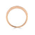 Pave Set 0.15ct Diamond Band in Rose Gold