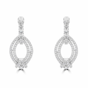Diamond Drop Earrings - Rosendorff Diamond Jewellers