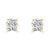 Timeless Diamond Studs 1.00ct F SI - Rosendorff Diamond Jewellers