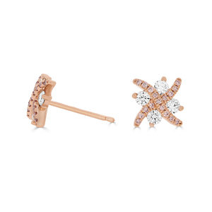 Argyle Pink Diamond Kisses Earrings