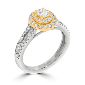 Oval Diamond Engagement Ring - Rosendorff Diamond Jewellers