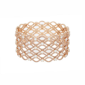 Argyle Pink Diamond Cuff Bracelet - Rosendorff Diamond Jewellers
