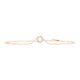 Rose Gold Small Circle of Life Bracelet - Rosendorff Diamond Jewellers