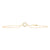 Yellow Gold Small Circle Life Bracelet - Rosendorff Diamond Jewellers