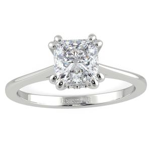 Bespoke Shannon Princess Cut Solitaire - Rosendorff Diamond Jewellers