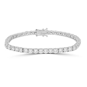 Timeless Diamond Tennis Bracelet 5.00tcw - Rosendorff Diamond Jewellers