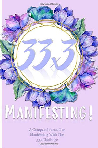 33x3 Manifesting! Journal - Purple