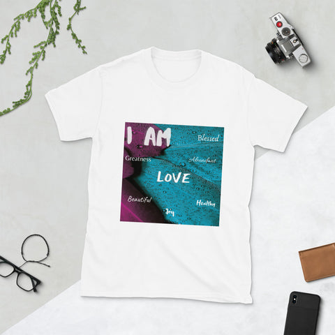I AM Feather T-Shirt