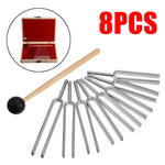 8pc Vibrational Tuning Fork Set