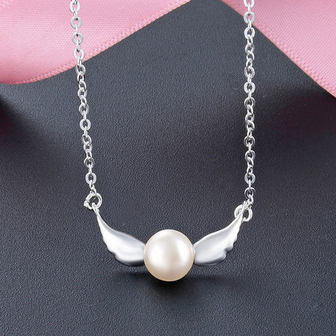 Angelic Guide Fresh Water Pearl Necklace