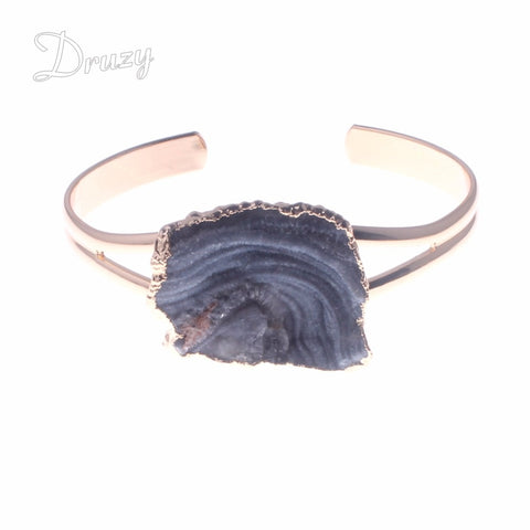 Druzy Dream Cuff Bangle