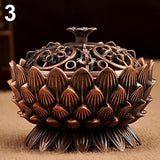 Enlightening Lotus Incense Bowl