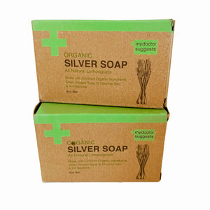 Silver Soap, Organic Lemongrass, 4 Oz