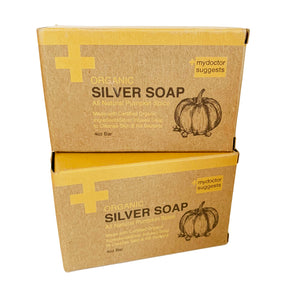 Silver Soap, Pumpkin Spice, 4 Oz