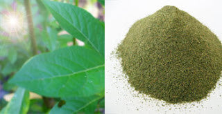 Green malay fine powders