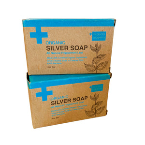 Silver Soap, Peppermint, 4 Oz