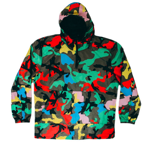 Courtside Camo Pullover