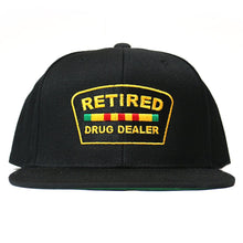 "Load image into Gallery viewer, ""Retired Drug Dealer"" Snapback"