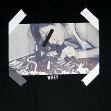 "Load image into Gallery viewer, ""Wifey"" T-Shirt (Black)"