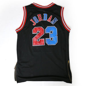 Handcrafted Blue/Red 23 Jersey