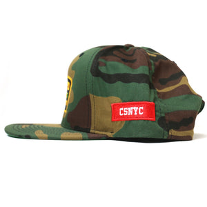 """Retired Drug Dealer"" Snapback (Camo)"