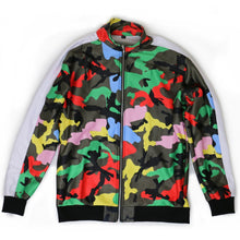 Load image into Gallery viewer, Courtside Camo Track Jacket