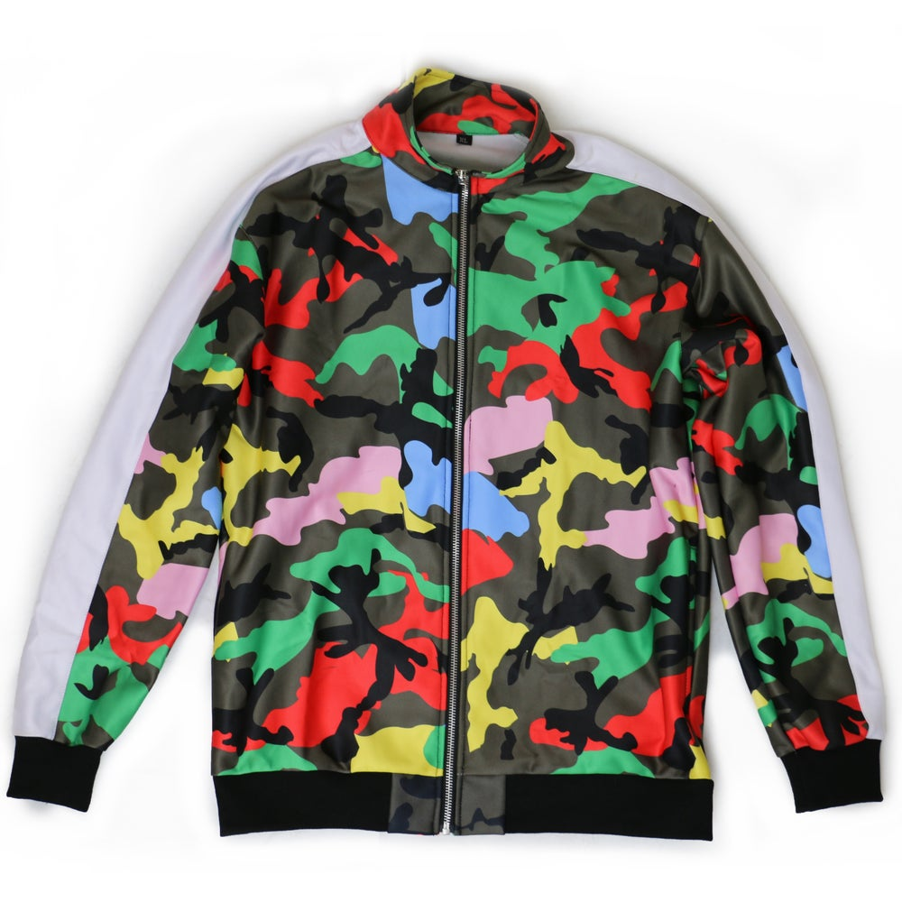 Courtside Camo Track Jacket