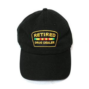 """Retired Drug Dealer"" Dadhat (Black)"
