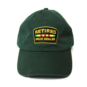 """Retired Drug Dealer"" Dadhat (Forest Green)"