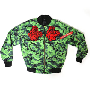 """War of The Roses"" Bomber"
