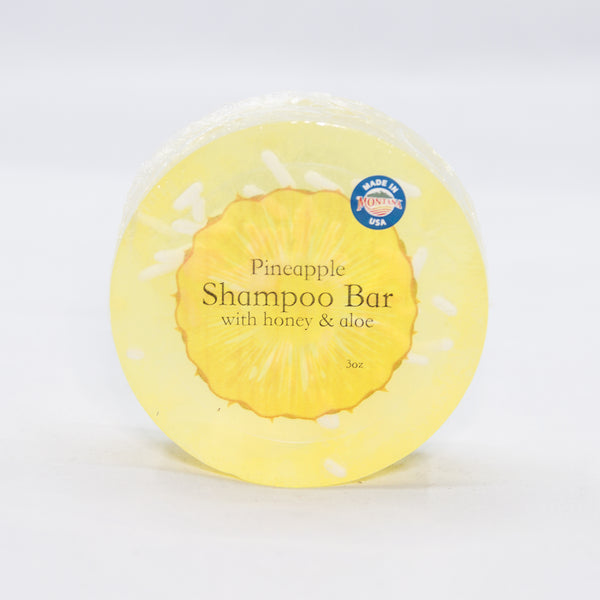 Pineapple Shampoo Bar