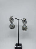 The Silver Globe Earrings