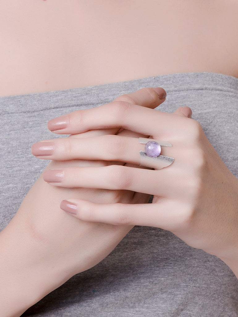 Trendy Stone Drop Rings